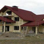 سقف ويلااجرای سقف شیبدار